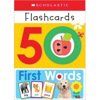 Scholastic Early Learners: 50 First Words Flashcards: Scholastic Early Learners (Flashcards) (Other)