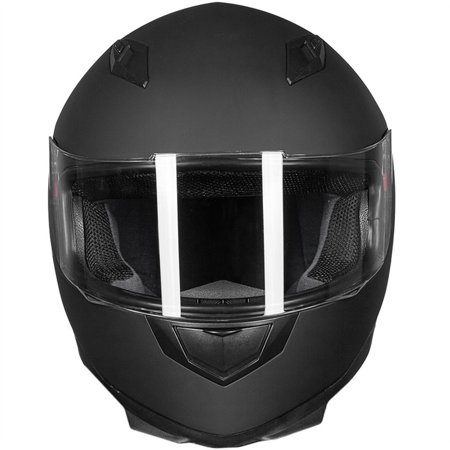 Full Face Helmet Race (ILM Motorcycle Helmet Full Face with Removable Neck Scarf and Two Visors DOT Approved Motorcross Helmet from S to XL)