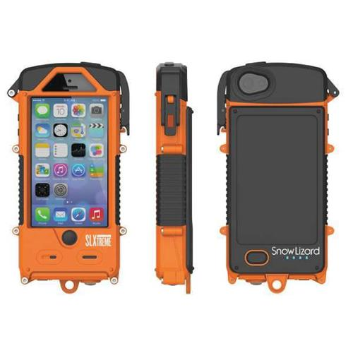 SNOW LIZARD SLSLXAPL05-OR Cell Phone Case,iPhone 5/5S,Signal Ornge