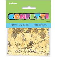 Gold Star Foil Confetti, 0.5oz
