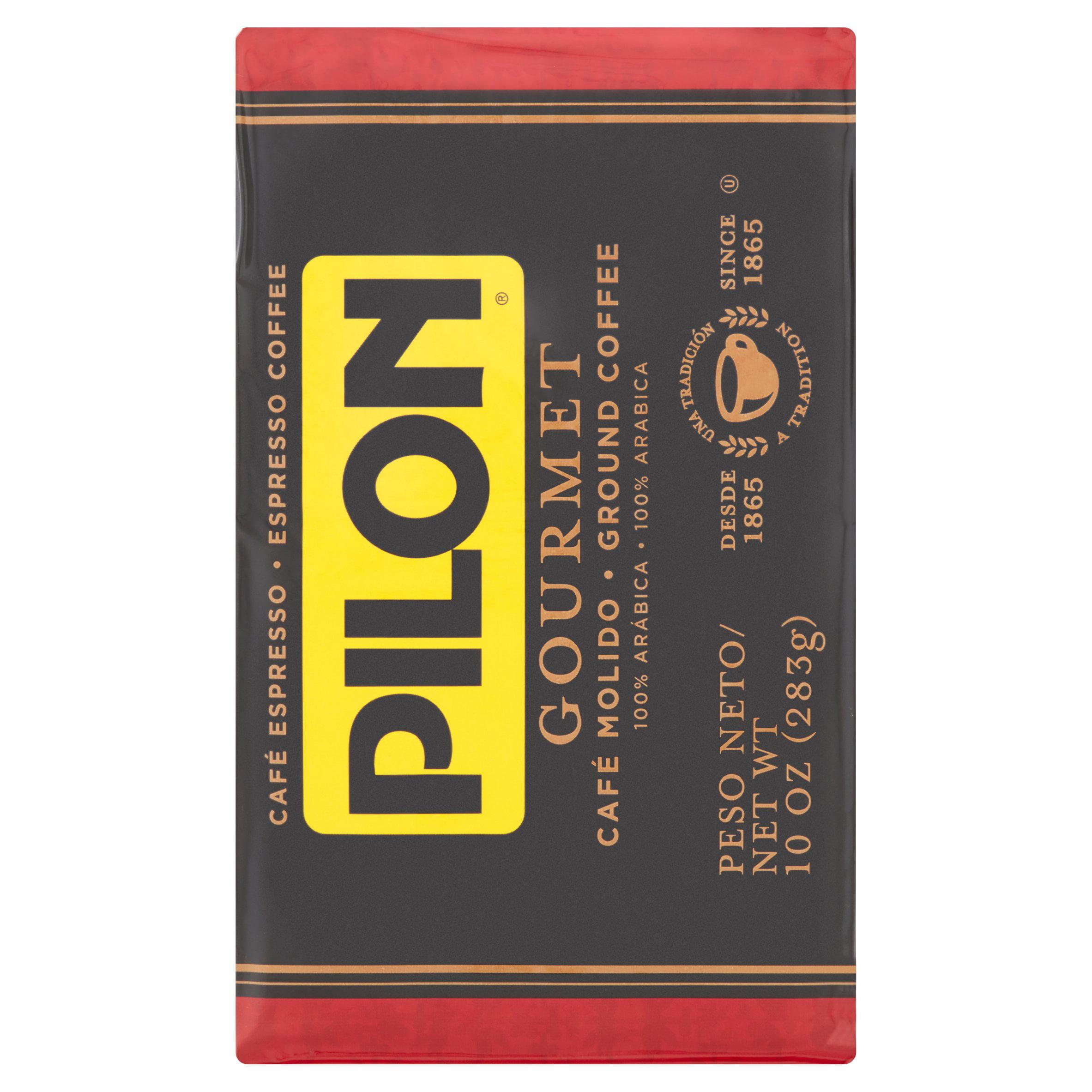 Cafe Pilon Espresso Ground Coffee, 10 oz