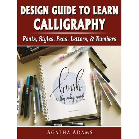 Design Guide to Learn Calligraphy: Fonts, Styles, Pens, Letters, & Numbers - eBook](Halloween Font Styles)