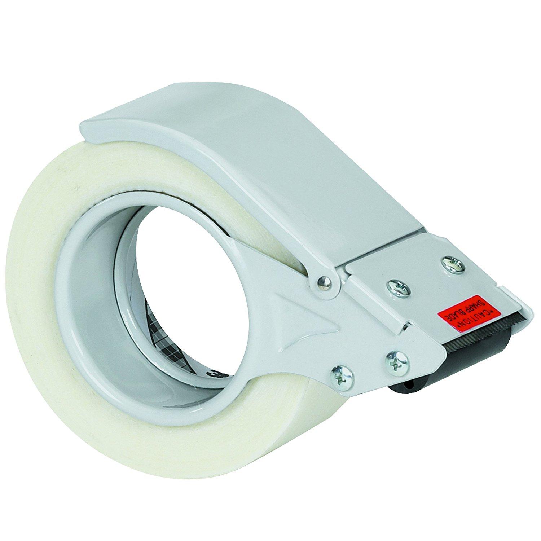 Tape Logic TLTDML2 HeavyDuty Filament Tape Dispenser, 2, Gray