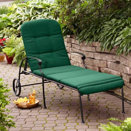 Better homes and gardens clayton court chaise lounge with for Better homes and gardens hillcrest outdoor chaise lounge