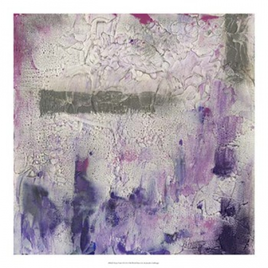 Dusty Violet I Poster Print by Jennifer Goldberger (20 x 20)