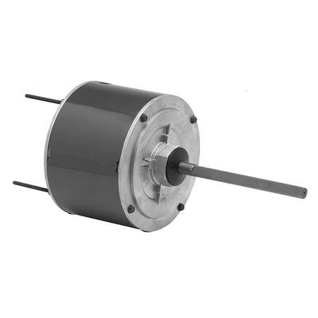 Fasco D7748 Condenser Fan Motor, 1/3 HP, 208-230 Volts, 1075 RPM, 1 Speed, 5.6