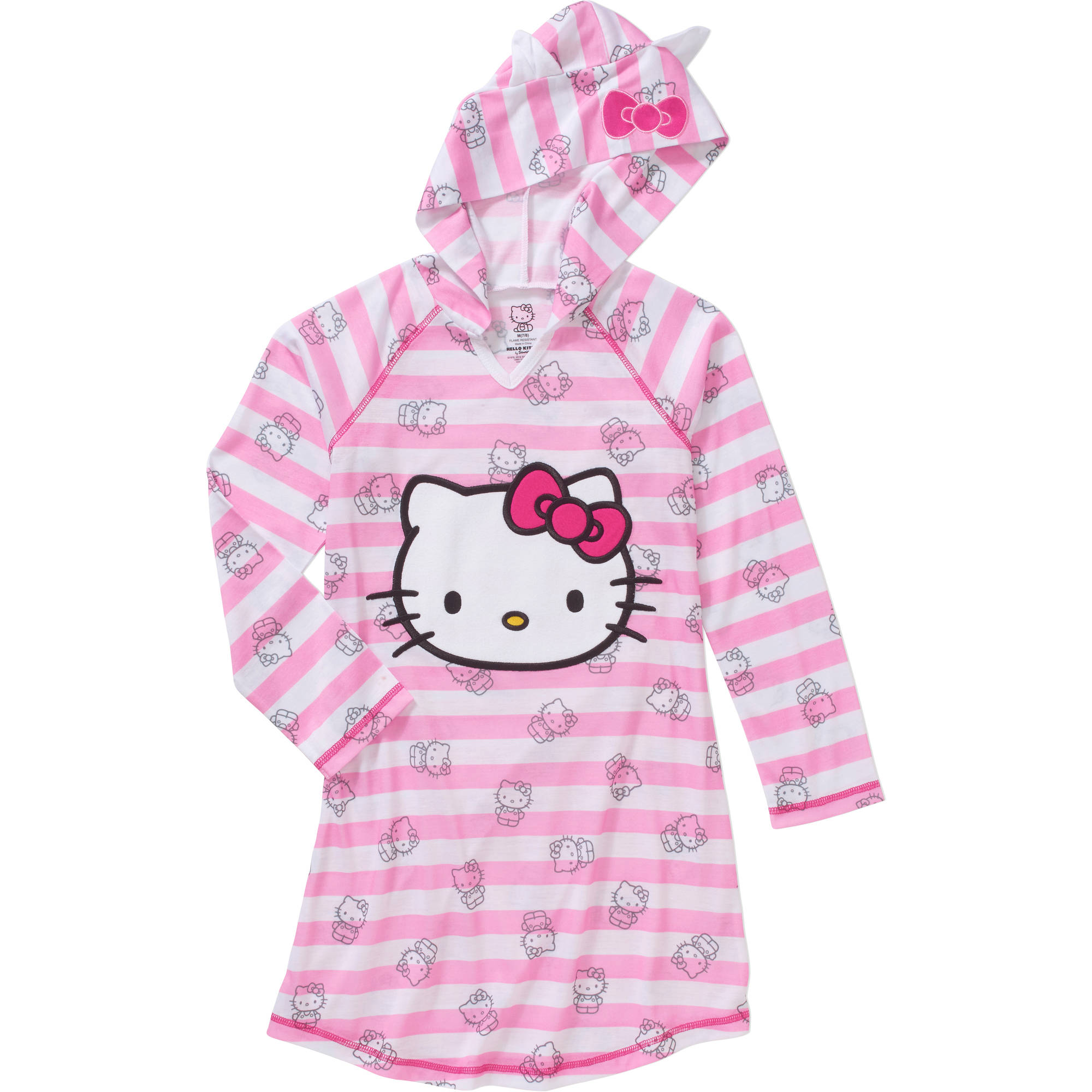Girls' Hello Kitty Hooded Sleep Dorm