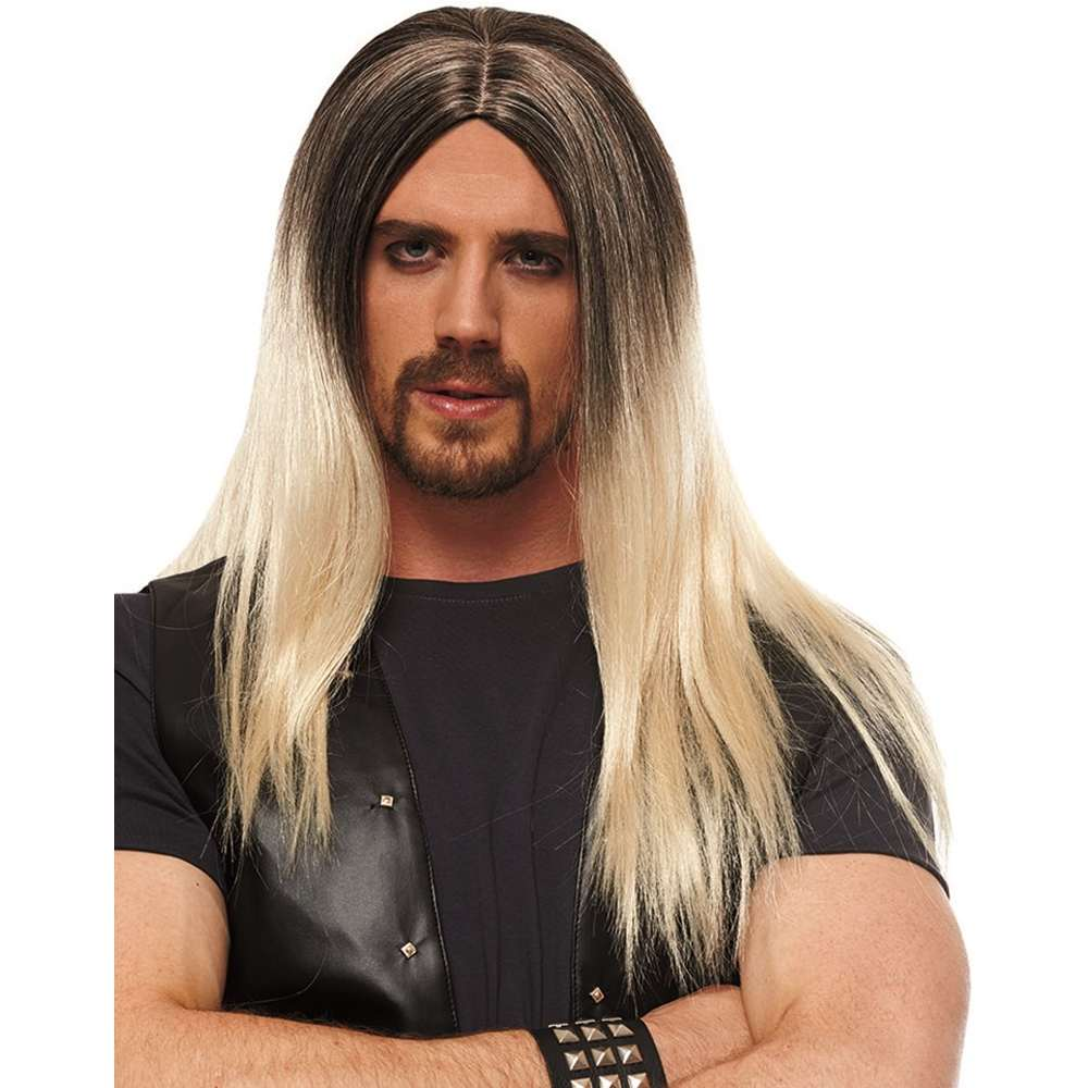 Franco Hombre Blonde with Black Roots Wig