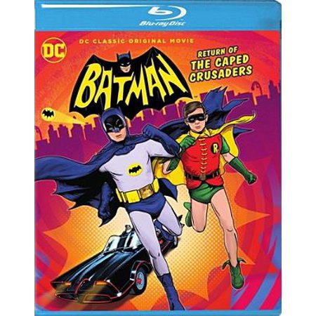 Batman: Return of the Caped Crusaders (Blu-ray) (Batman Return Of The Caped Crusaders Comic)