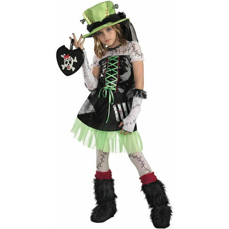 Monster Bride Child Halloween (Children's Bride Of Frankenstein Costume)