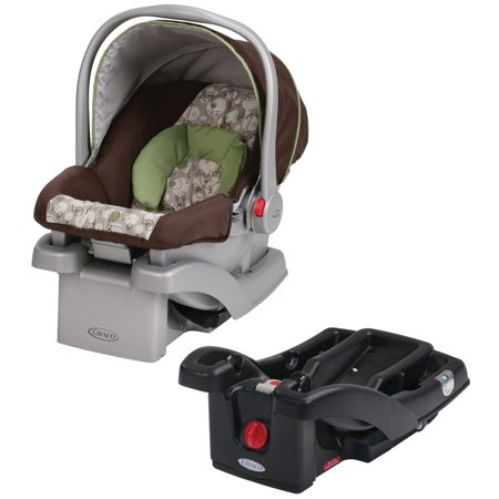 graco snugride click connect 30 infant car seat with extra base. Black Bedroom Furniture Sets. Home Design Ideas