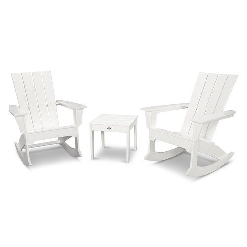 Polywood Quattro 3 Piece Rocker Seating Group