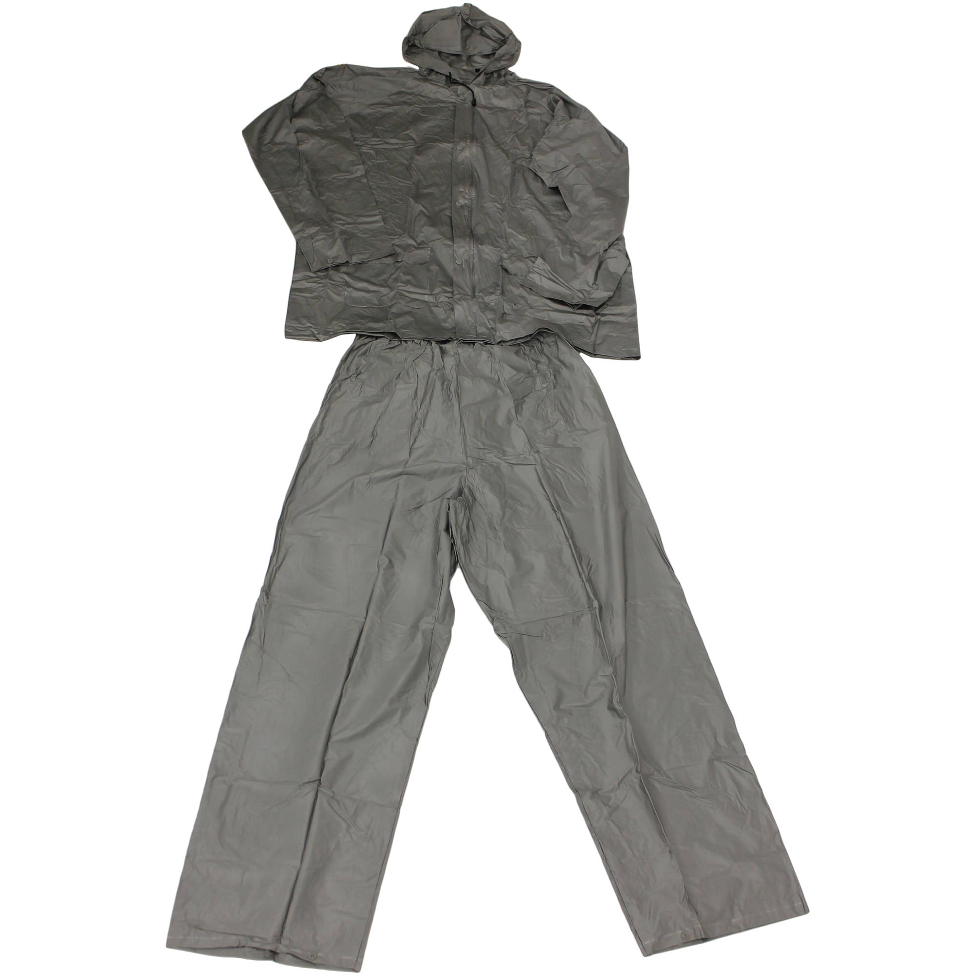 Ultimate Survival Technologies Adult All-Weather Rain Suit, Gray by Generic