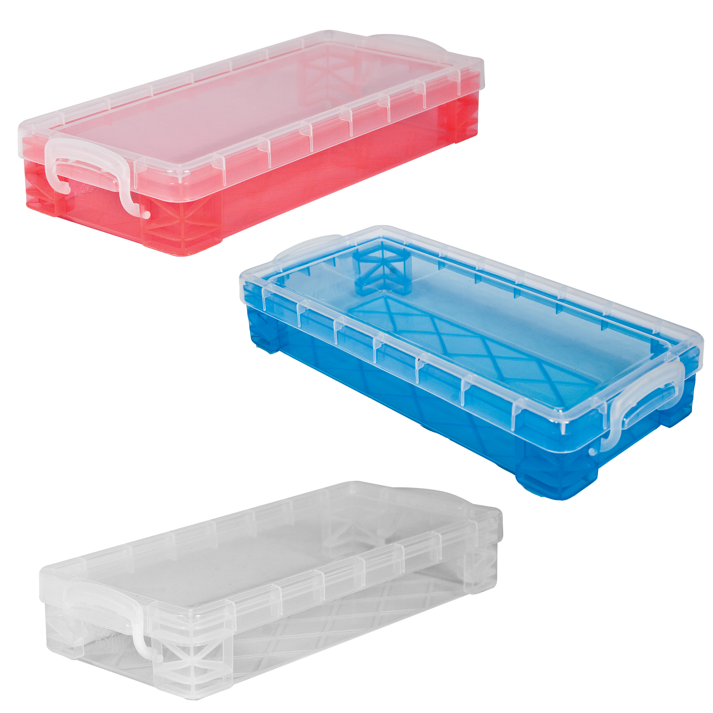 Super Stacker® Slim Supply Box, Assorted Colors Available