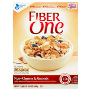 General Mills Fiber One Nutty Clusters & Almonds Cereal, 0.1 oz