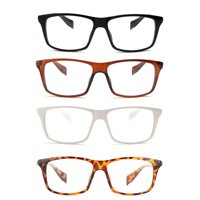 dbb50bc9b89 Product Image Newbee Fashion - Casual Simple Squared Durable Frames Temple  Design Clear Eye Glasses