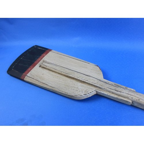 Handcrafted Nautical Decor Wooden Winthrop Decorative Squared Rowing Boat Oar with Hooks Wall D cor by Handcrafted Model Ships