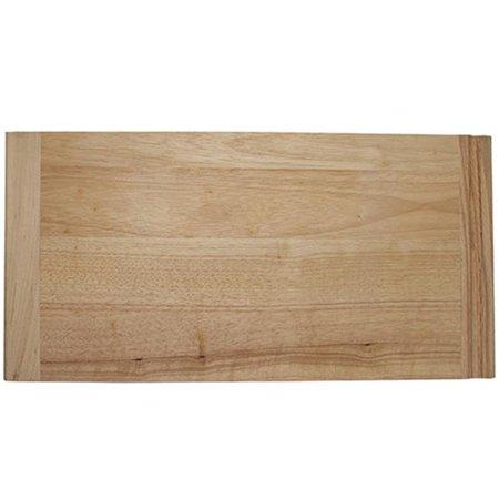 - HD NPBB12 Rubberwood Bread Boards - 0.75 x 12 x 23.50 in.