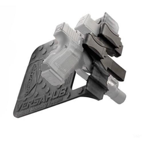 Versacarry VCHUB Versahub Bedside Mount System for Gun and Magazine Black by VERSACARRY (SITZCO LLC)