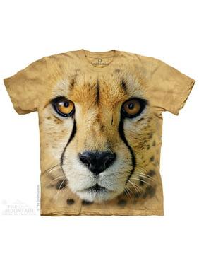 Sand 100% Cotton Bf Cheetah Endanger USA T-Shirt