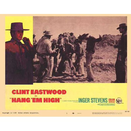 Hang Em High Poster Movie Mini Promo
