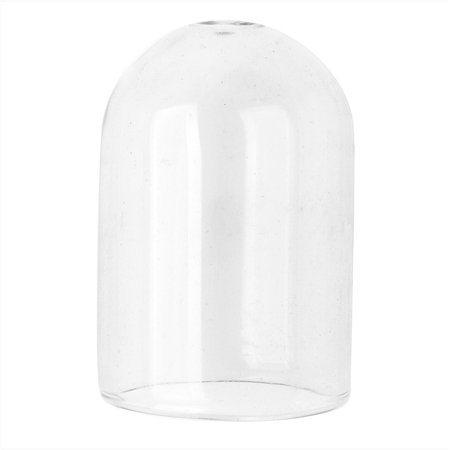 Domed Shape - Hollow Glass Dome for Jewelry, 24.5x36.5mm Pill Shape, 2 Pieces