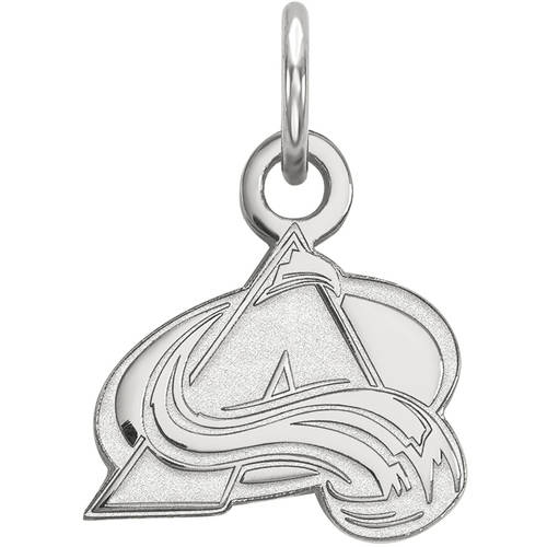 LogoArt NHL Colorado Avalanche 14kt White Gold Extra Small Pendant