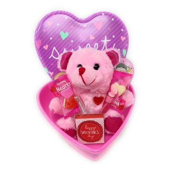 Happy Valentine's Day Kids Candy Basket