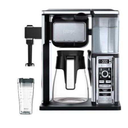 - Ninja Auto-IQ Coffee Maker Brewer Bar System with Glass Carafe (Refurbished)