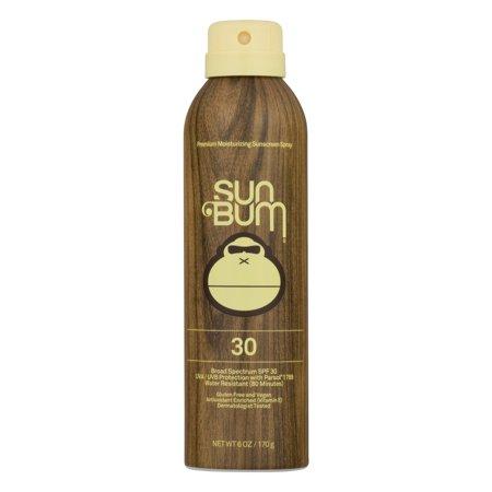 Moisturizing Sunscreen Spray SPF 30, 6.0 OZ (Best Once A Day Sunscreen)