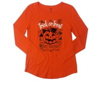 39ea53fc Product Image Womens Happy Halloween Jack O Lantern Tee Shirt Trick Or  Treat T-Shirt