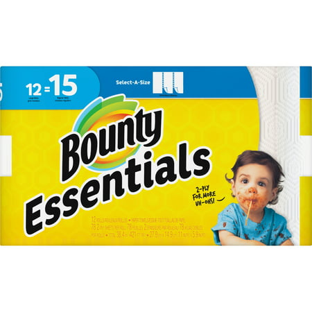 Bounty, PGC75720, Essentials Select-A-Size Towels, 936 / Carton, - Bounty Towels