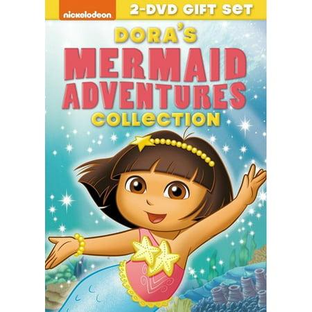 Dora the Explorer: Dora's Mermaid Adventures Coll (DVD) (Dora The Explorer Mermaid Adventure)