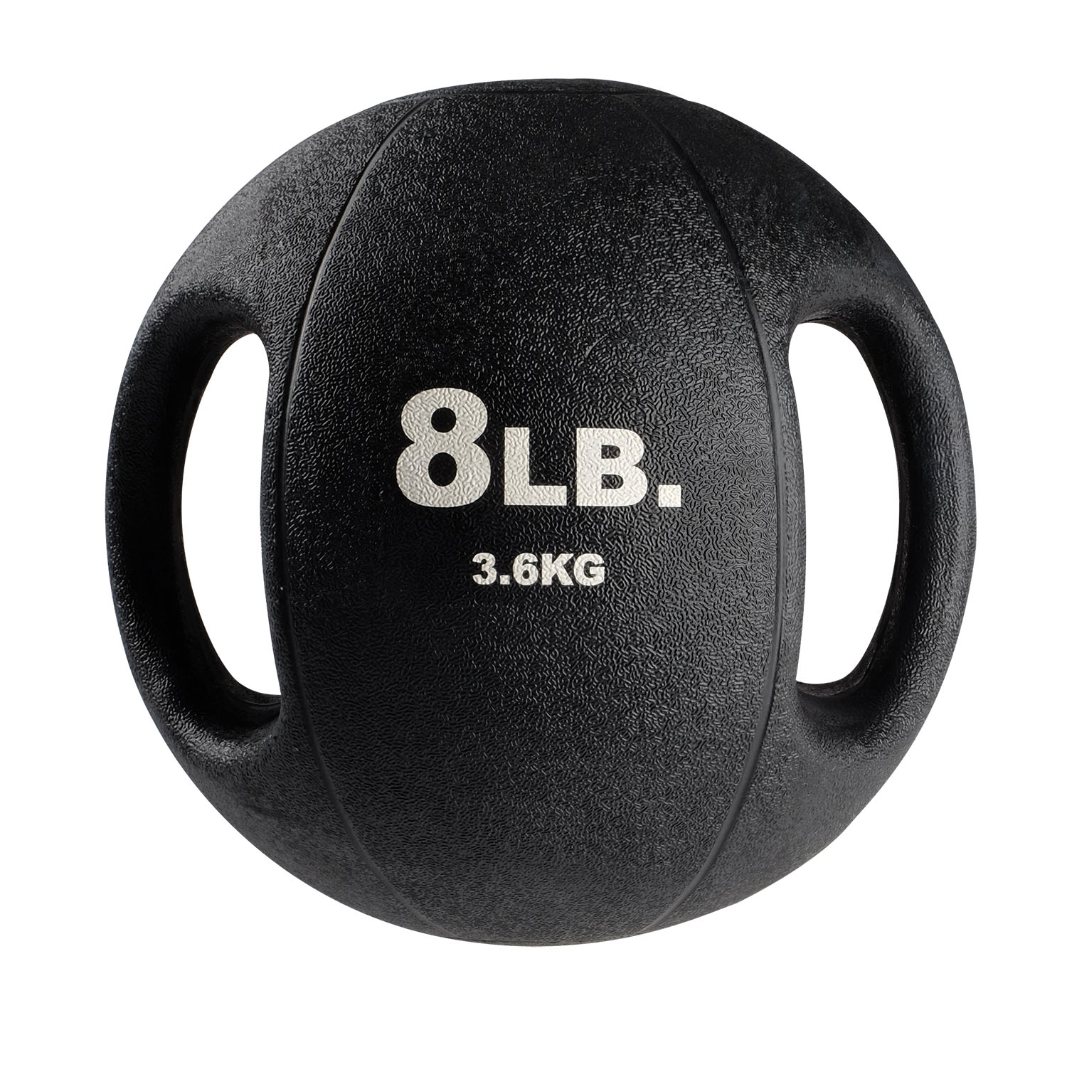 BSTDMB8 8lb BLack Dual Grip Medicine Ball