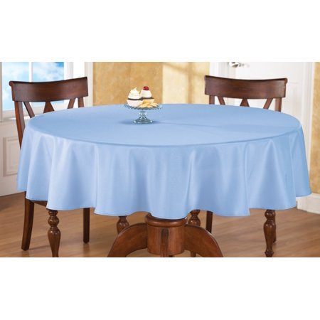 Collections Etc Basic 70 inch Round Tablecloth - Round Halloween Tablecloth