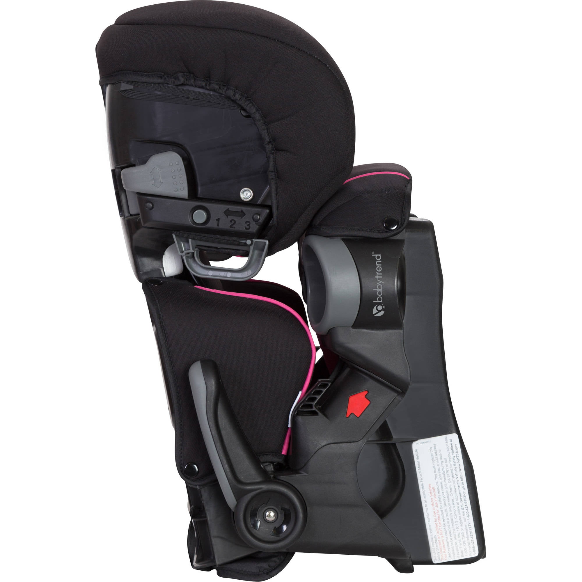 Baby Trend PROtect Yumi Folding High Back Booster Car Seat, Titan ...