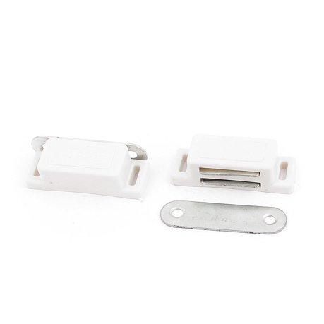 fabricant de portes de cuisine armoire placard loquet magn tique unique cabinet 2pcs blanc. Black Bedroom Furniture Sets. Home Design Ideas