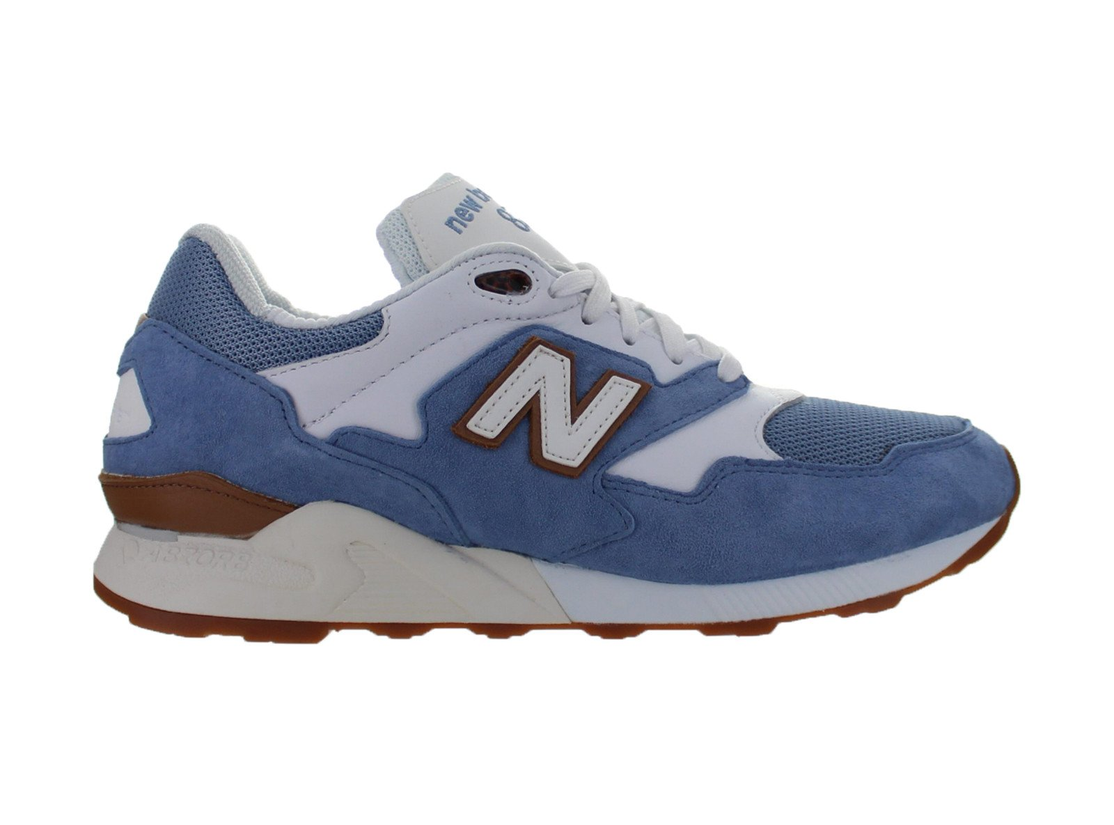 Mens New Balance 878 Pastel Pack Light Blue Gum Brown White ML878RMB by New Balance