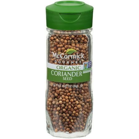 - McCormick Gourmet Coriander Seed, 0.87 oz