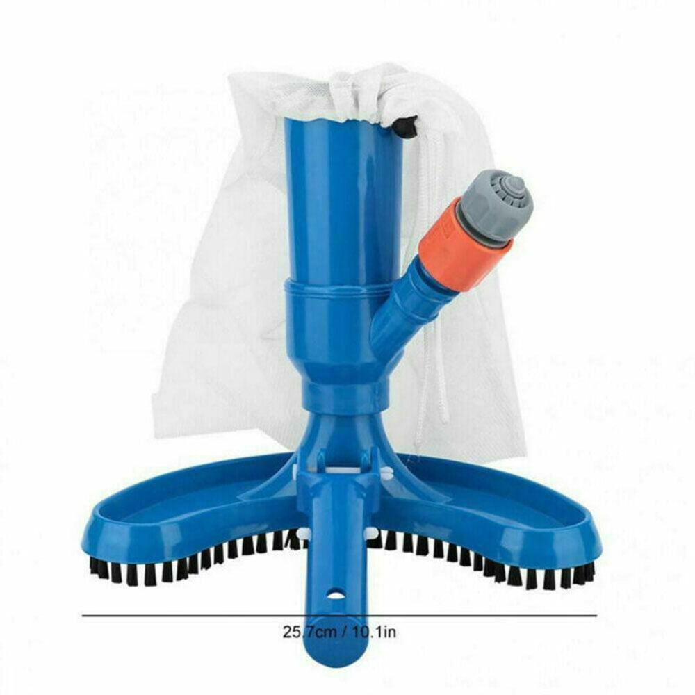 Wgch Pool Brush Pool Vacuum Brush Cleaner Tool Swimming Pool Spa Vacuum Brush Cleaner Portable Pool Supply Tool for Pond Fountain Hot Tub
