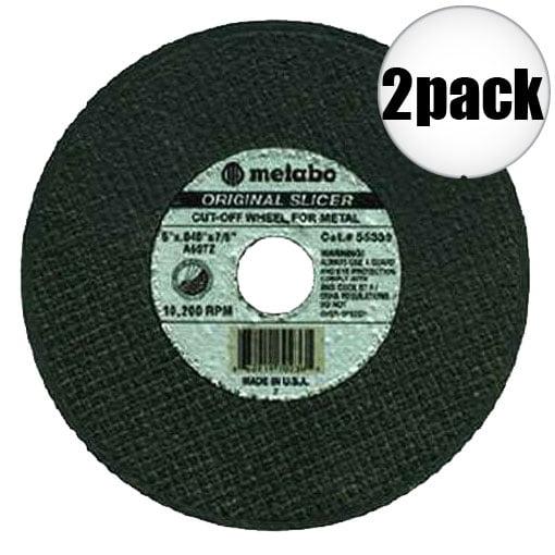 """Metabo 55334 5x040x7/8"""" Original Slicer 2-Pack"""