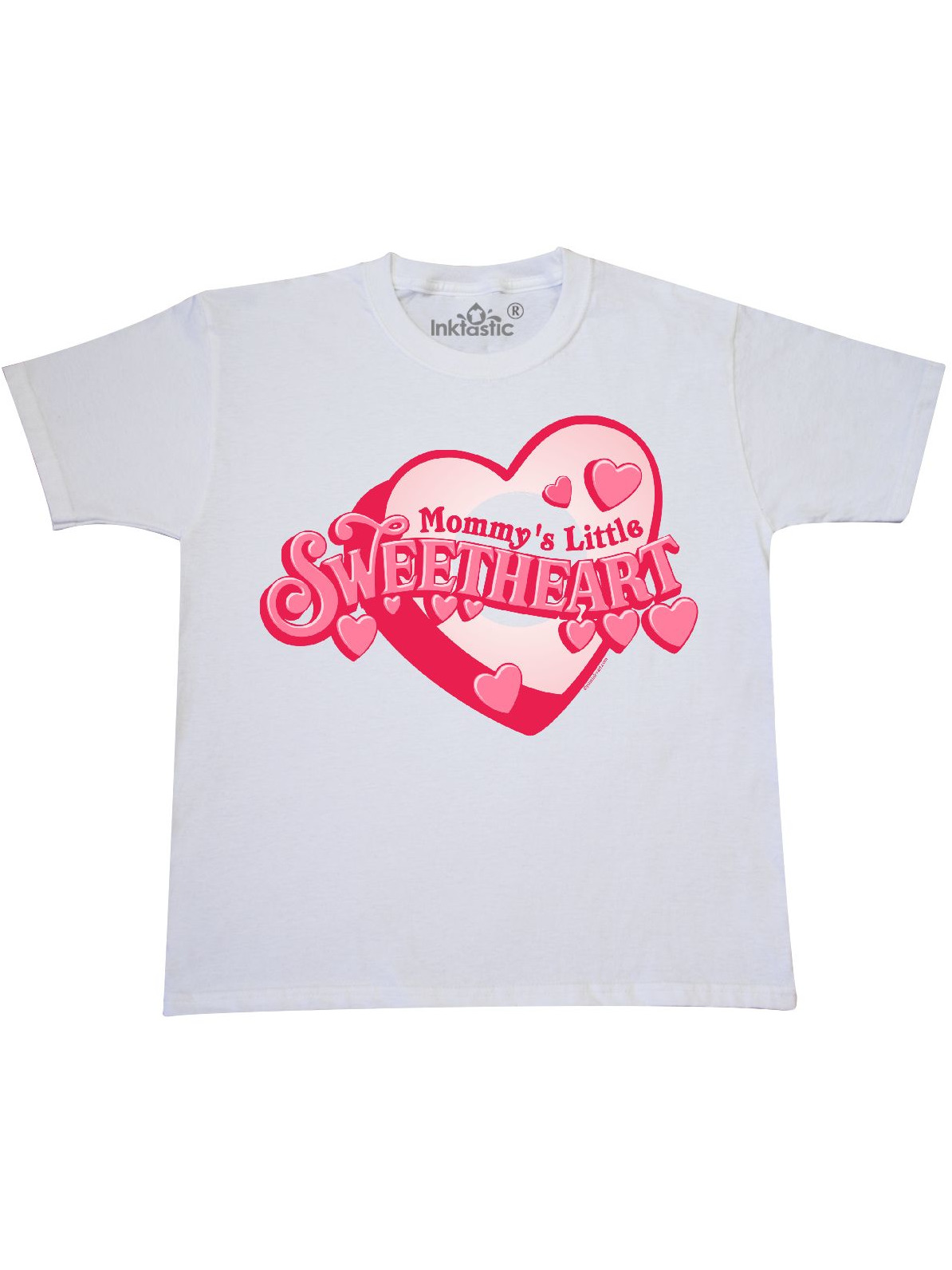 inktastic Mommys Sweetheart Toddler T-Shirt