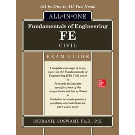 Fundamentals of Engineering FE Civil All-in-One Exam Guide -