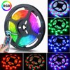 LED Strip Lights,16.4ft Flexible 300 LED Light Strip 3258SMD Tape Lights, Color Changing LED Strip Lights with 44 Key Remote for Home Lighting Kitchen Bed Flexible Strip Lights for Bar Home Decoration