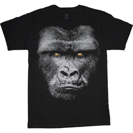 Mens Graphic Tees Gorilla T-shirt Decked-Out-Duds Mens Clothing