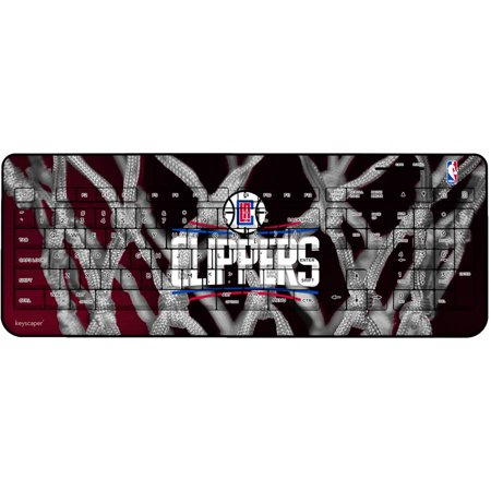 Los Angeles Clippers Net Design Wireless USB Keyboard by Keyscaper by