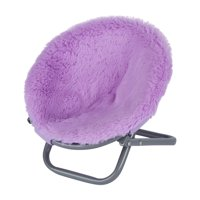 """My Life As Fluffy Saucer Chair for 18"""" Dolls, Purple"""