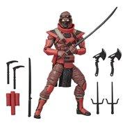 G.I. Joe Classified Series Red Ninja Action Figure, 6 inches