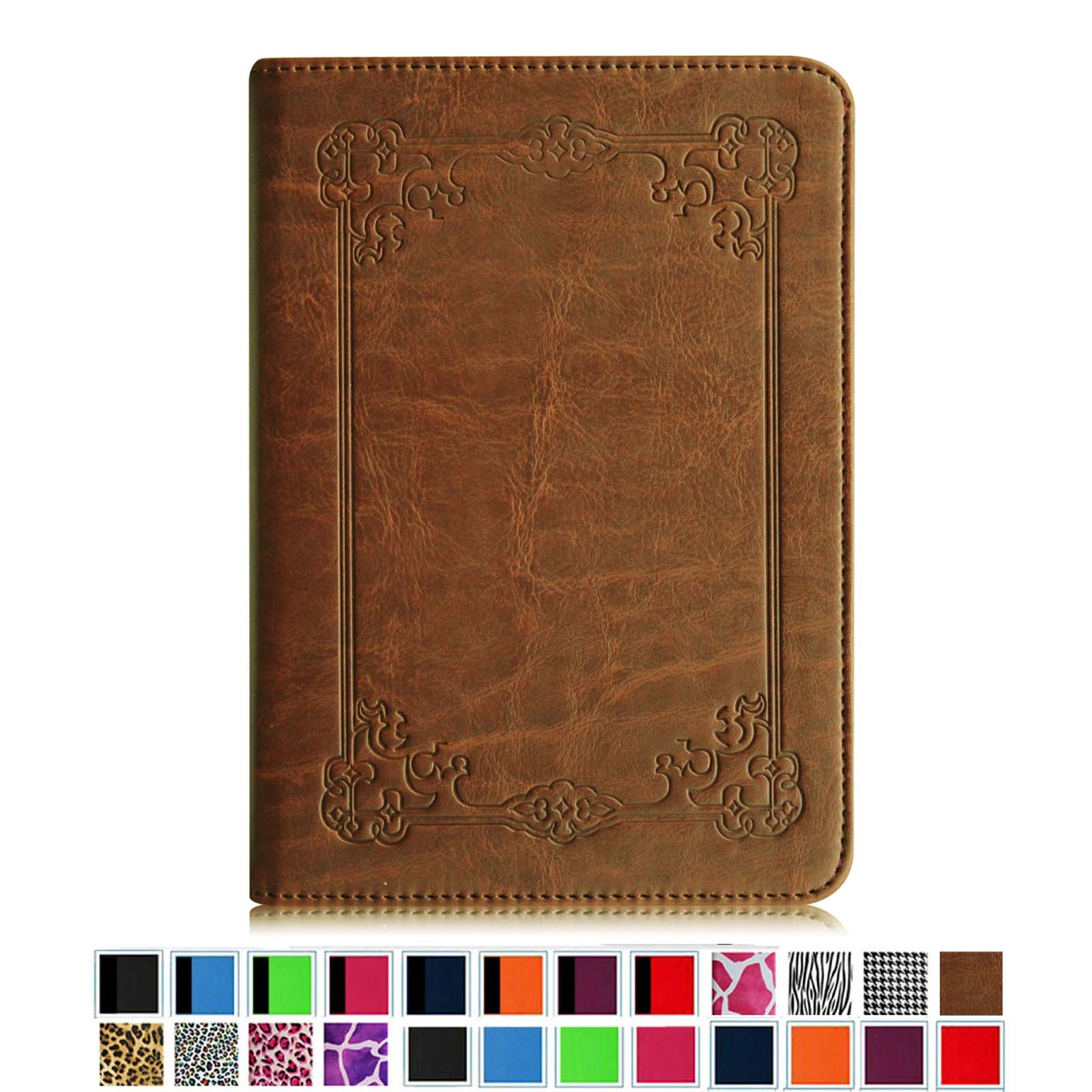 All-New Amazon Kindle Paperwhite Case - Fintie The Book Style PU Leather Cover W/ Auto Sleep/Wake Vintage Antique Bronze