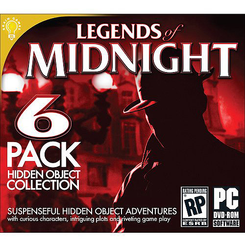LEGENDS OF MIDNIGHT Hidden Object Collection 6 Pack